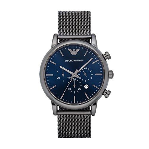 Emporio Armani AR1979 Reloj Hombre, negro
