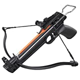 Armory Replicas Outdoor Hunting Camping Survival Light Crossbow 50lbs Pistol Fiberglass