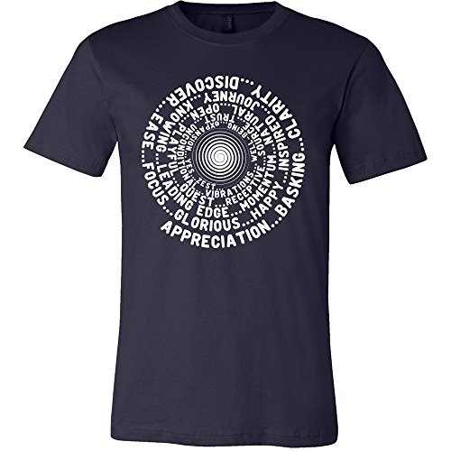 Abraham-Hicks Law of Attraction ABC Feel Good Vortex * Men's T-Shirt Jersey Tee