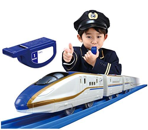 TAKARA TOMY I'Ll Run in Plarail Flute! Whistle con E7-Based Hokuriku Shinkansen Shine Set