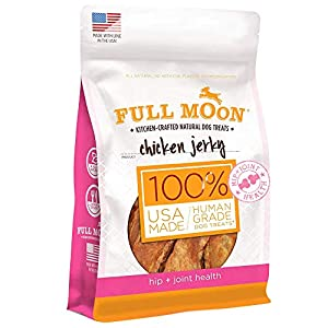 Full Moon Chicken Jerky Healthy All Natural Dog Treats Human Grade For Hip And Joint 12 oz