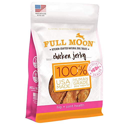 Full Moon Chicken Jerky Healthy All Natural Dog Treats Human Grade For Hip...