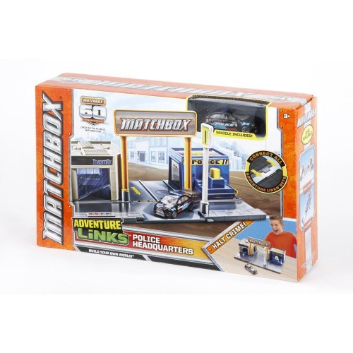 Matchbox Adventure Links Police Headquarter