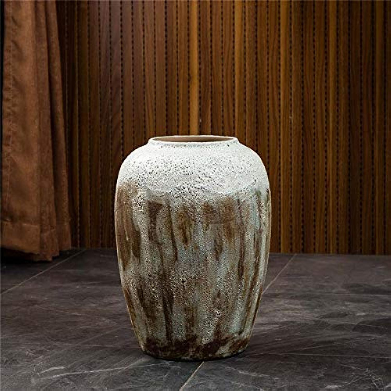 Boutique vase céramiqueModerne Minimaliste Plancher en Porcelaine Vases De Pots d'argile Creative OrneHommests Home Office Décoration Idéal Cadeau pour Amis Et Famille