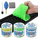L LONGANCHANG Tastatur Reinigung 3 Stück, Reinigungsknete Staubreinigungsschlamm für Laptop...