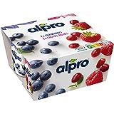 Alpro Arándanos y Frutos Rojos 4x125 g