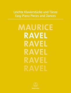Piano Pieces and Dances Ravel
