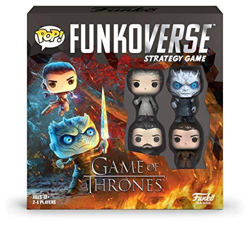 Funko 46060 POP Funkoverse Thrones-100 Base Strategy Board Game, Multicolour