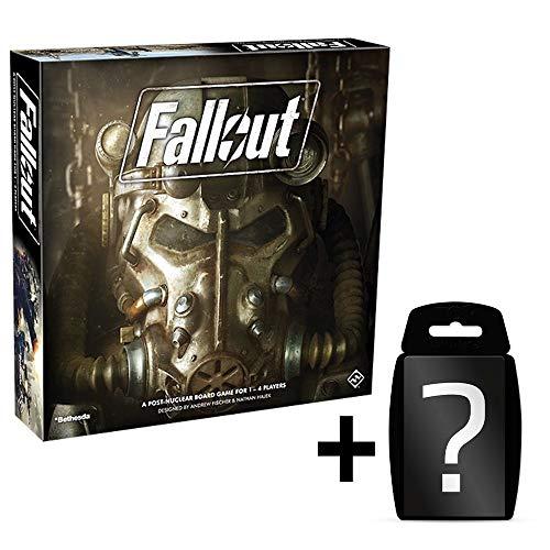 Fallout - Das Brettspiel | DEUTSCH | Set inkl. Kartenspiel