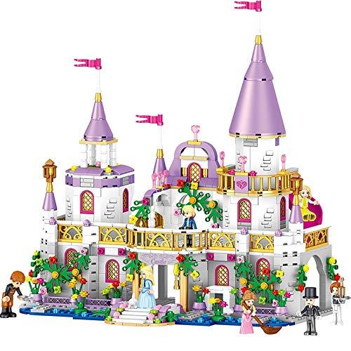 GLLP Conjunto de chicas Windsor Castle Series Girls Yizhi Princess House 731 bloques de construcción (color : castillo)
