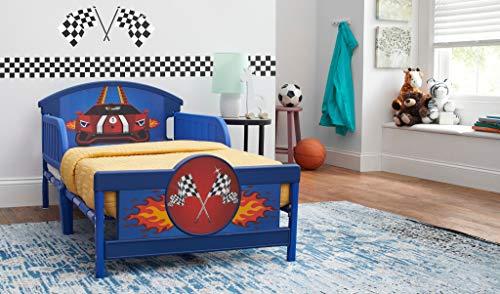 Ti Amo Race Car Toddler Bed, Multi