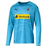 PUMA BMG Borussia Mönchengladbach Fußball Langarm Torwart Trikot 2018 2019 GK Shirt Herren hellblau Gr XXXL