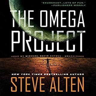 The Omega Project audiobook cover art