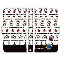 iPhone7 ケース [デザイン:15.自己紹介/マグネットハンドあり] ハローキティ Hello Kitty サンリオ アイフォン iphone7 手帳型 スマホケース スマホカバー 手帳 携帯 カバー