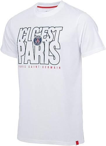 PARIS SAINT-GERMAIN T-Shirt PSG - Collection Officielle Taille Homme