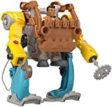 Fisher-Price Rescue Heroes Carlos Kitbash Figure & M.A.N.N.I.E. Mech Suit