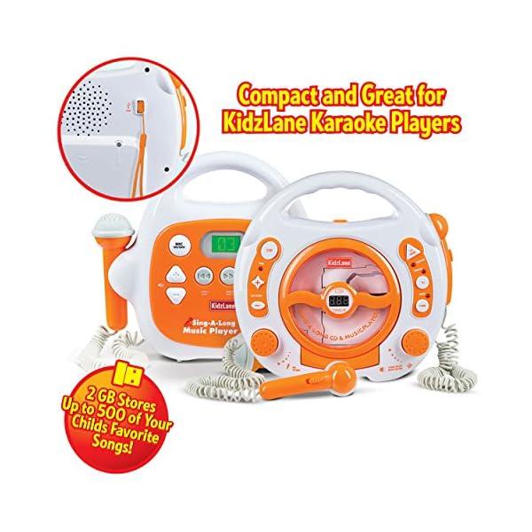 2GB USB Flash Drive Karaoke Sing Along CD/MP3 Player, Small, Lightweight, Portable 4
