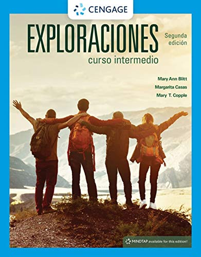 Exploraciones curso intermedio (MindTap Course List)