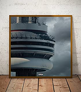 Drake Views Album Limited Poster Artwork - Professional Wall Art Merchandise (More Sizes Available) (8x8)