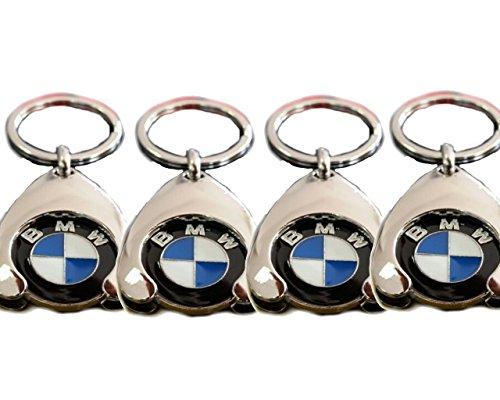 Original BMW Schlüsselanhänger Einkaufs Chip Einkaufswagen Einkaufschip 80272446749 1er 2er 3er 4er 5er 6er 7er X1 X2 X3 X4 X5 X6 (4)