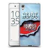 オフィシャル AC/DC ACDC レーザー・エッジ アルバム・アート Sony Xperia X/X Dual 専用ソフトジェルケース