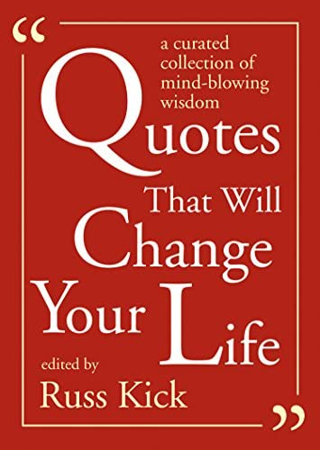 Quotes That Will Change Your Life A Currated Collection of Mind Blowing Wisdom product image