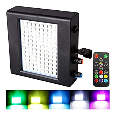 Led Atomic Strobe, Stage Strobe Light, Full Color Strobe Lights with Remote Control, 108Pcs Super Bright Flashing Gaming Lights for disco