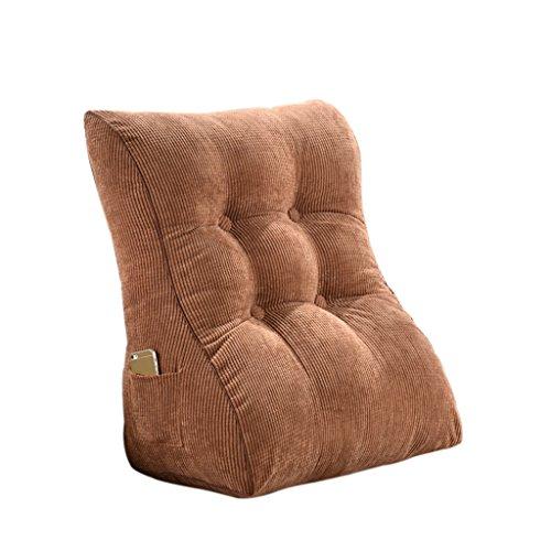 Cushion SESO UK- Lendenwirbelkissen Rückenstütze Kissen Lesekissen für Bett Rückenlehne und Sofa für Rückenschmerzen und Ischias (größe : 45 * 55cm)