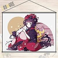 COSMORE Fate/Grand Order フェイト グランド オーダー FGO 葛飾北斎 タペストリー ポスター 壁掛ける絵画 カスタマイズ可能 約90cmX60cm