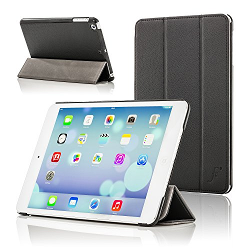 Forefront Cases Cover for Apple iPad Mini A1432 Folding Case Cover Stand - Slim Light, Full Device Protection & Smart Auto Sleep Wake - Black