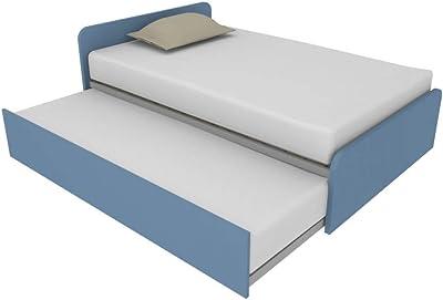 864R - Cama de 120 x 190 cm con segunda cama extraíble ...
