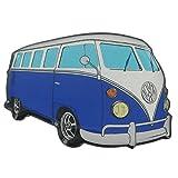 Con licencia oficial de Volkswagen VW furgoneta forma imán para nevera–Azul