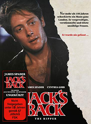Jack´s Back - The Ripper - Mediabook - Cover A (+ DVD) [Blu-ray]