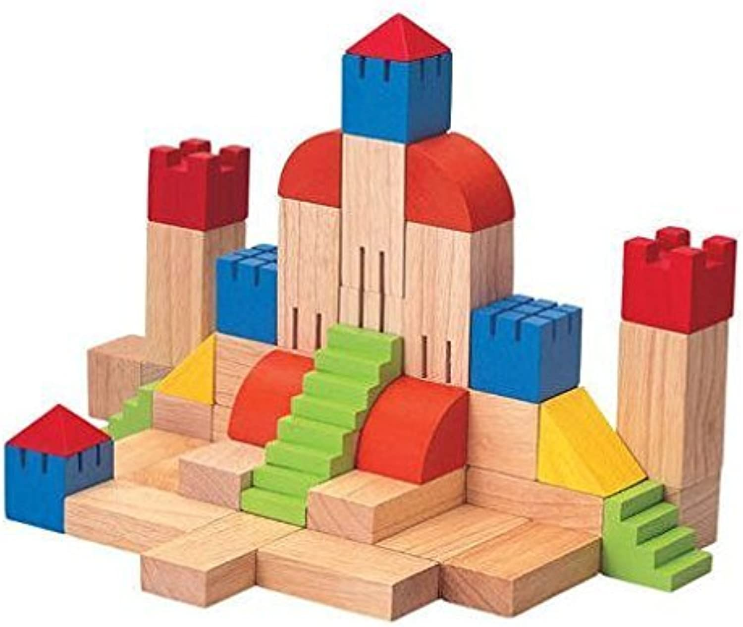 PlanToys Plan Preschool Creative Blocks, 35 mm by PlanToys