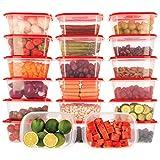 Oursson Recipientes Plastico para Alimentos Almacenaje Cocina con...