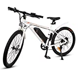 ECOTRIC 26' Ebike Electric City Bicycle Bike Powerful 350W 36V/9AH Removable Lithium Battery Assist...