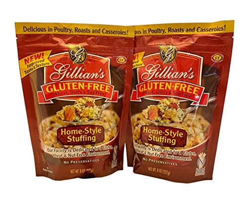 Gillian's Gluten Free Home Style Stuffing 2 pack for Christmas Holiday Dinner