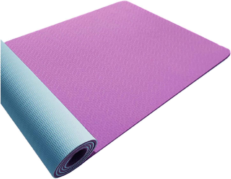 Yoga Mat Floor Mats latest Genuine Free Shipping Exercise Equipment Proof Non TPE Sweat Slip