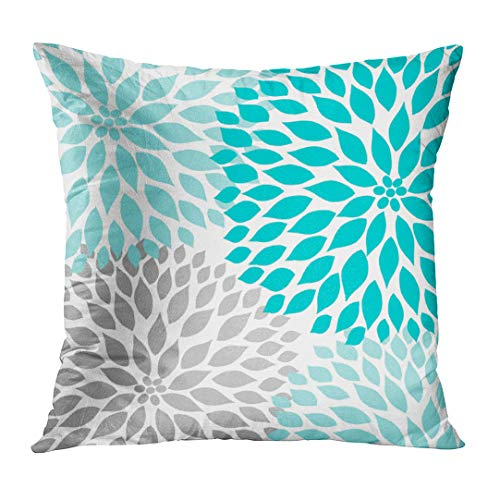 Emvency Throw Pillow Cover Teal ...