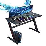 Huracan Gaming Tisch Gamer Schreibtisch Groß XL Computertisch Verbessert...