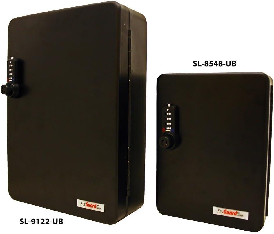 Black Finish 122 Hook KeyGuard SL-9122-E Electronic Key Cabiinet