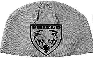 various colors 302fe f47f0 Squared Circle Shield Roman Reigns Dean Ambrose Seth Rollins WWE NXT WWF  Wrestling Wrestler Beanie Knitted