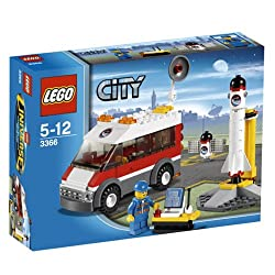 LEGO CITY Satellite Launch Pad