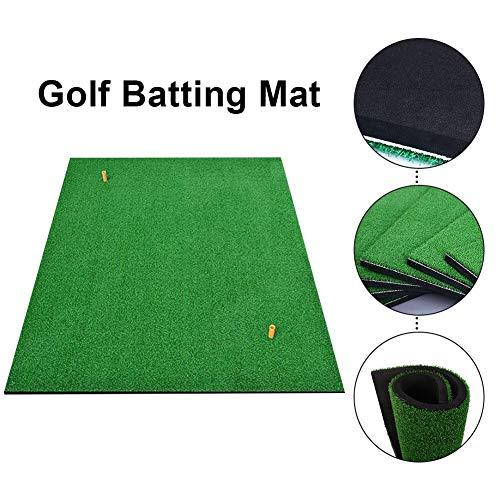 Happt Tragbare Golfmatten Swing-Ball-Teppiche Golf-Sportgeräte Persönliche Übungs-Pads für alle Golfbegeisterten