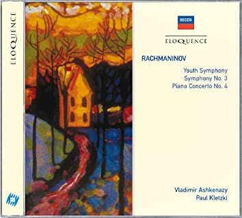 Rachmaninov: Youth Symphony; Symphony No.3; Piano Concerto No.4