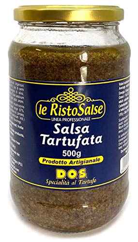 Salsa Tartufata 500gram - Utilizzata Nei Ristoranti E Da Cuochi Professionisti - Prodotto Artigianale Umbria
