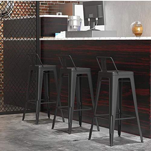 YIZ Stoelen Modern Meubilair Eetkamer Lounge Onderhandelen Effen Hout Kruk Cafe Rugleuning A