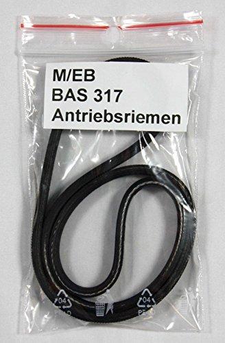 Antriebsriemen / Keilriemen / Rippenriemen für die Bandsägenmaschine Elektra Beckum / Metabo BAS 317 Precision