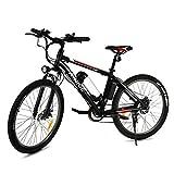 Vivi - Bicicleta eléctrica plegable para montaña, con batería de litio de 26 pulgadas, gran capacidad, 36 V, 350 W, 21 velocidades, suspensión completa Premium y cambio