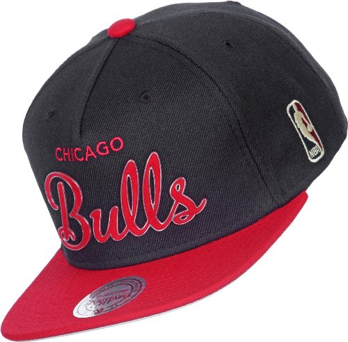 Mitchell & Ness - Casquette Snapback Homme Chicago Bulls Sonic - Black